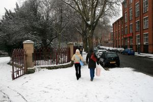 Winter Snow in Leicester